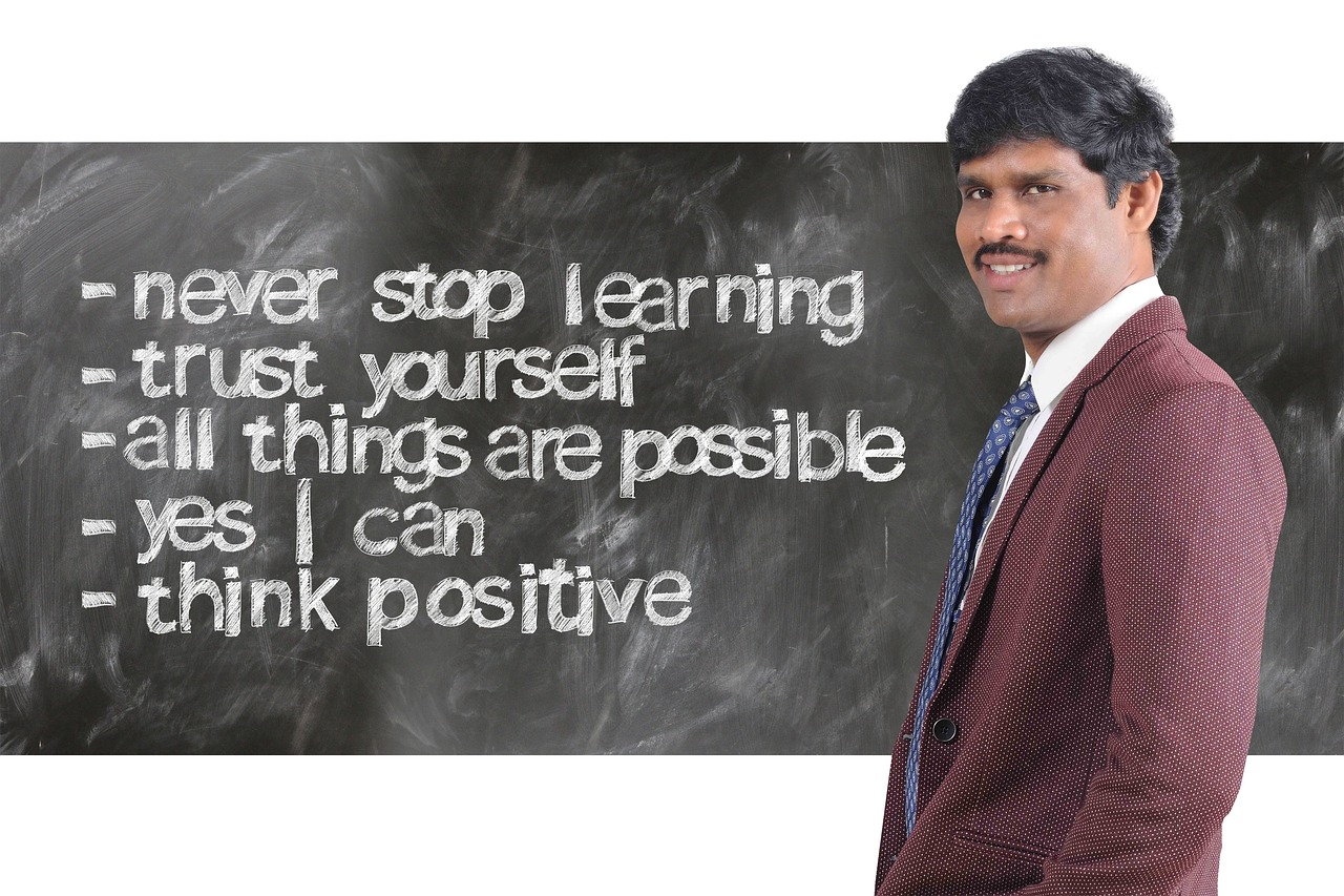 There is magic in positive thinking—always think positively!
