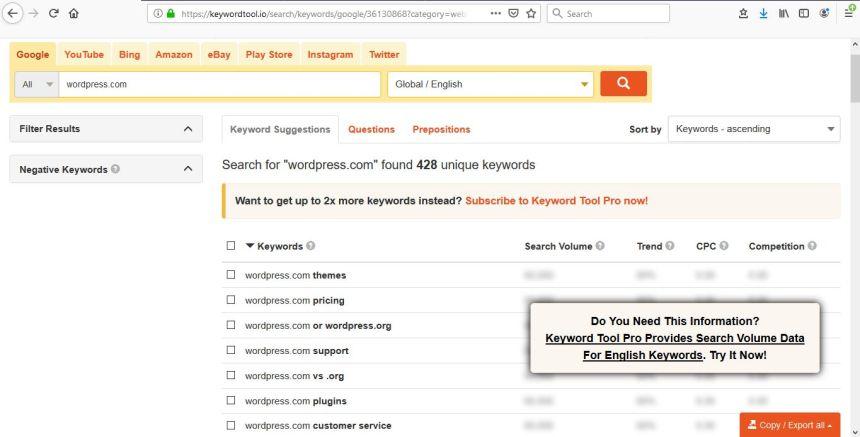 Screenshot 5_keyword search optimization